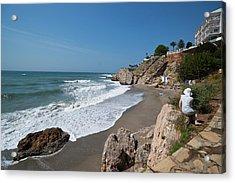 La Caletilla Beach Acrylic Print