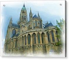 La Cathedrale De Bayeux Acrylic Print