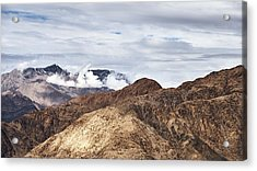 Acrylic Print featuring the photograph Ladakh Peaks by Whitney Goodey