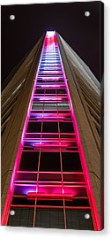Ladder To Heaven  Acrylic Print by Christine Buckley