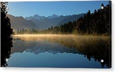 Lake Matheson Morning Acrylic Print