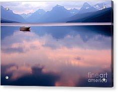 Lake Mcdonald Acrylic Print