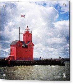 Lake Michigan Light House Acrylic Print