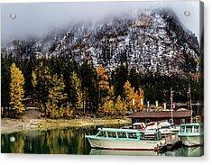 Lake Minnewanka, Banff National Park, Alberta, Canada Acrylic Print