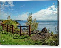 Lake Superior Overlook Acrylic Print