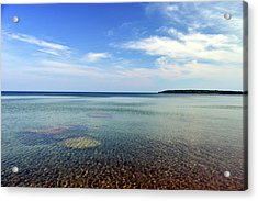 Lake Superior Rocks Acrylic Print