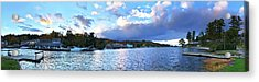 Acrylic Print featuring the photograph Lake Winnipesaukee From Alton Bay, Nh by Joann Vitali
