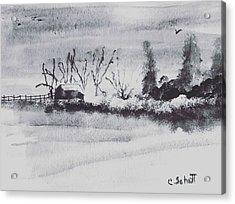 Lakeside View Acrylic Print