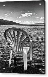 Lakeside Waiting Room Acrylic Print