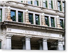 Lamar Building - Augusta Ga Acrylic Print