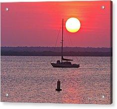 Lame Monroe Sunset-5140 Acrylic Print