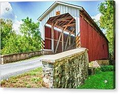 Lancaster Covered Bridge Acrylic Print