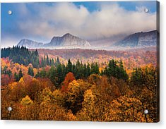 Land Of Illusion Acrylic Print