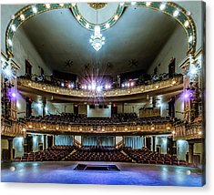 Landers Theatre Stage View Acrylic Print