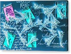 Landmark Love Letter Acrylic Print
