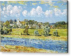Landscape At Newfields, New Hampshire - Digital Remastered Edition Acrylic Print