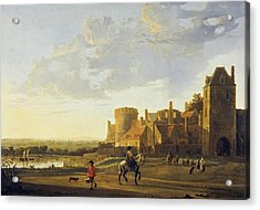 Landscape With A View Of The Valkhof, Nijmegen, 1660 Acrylic Print