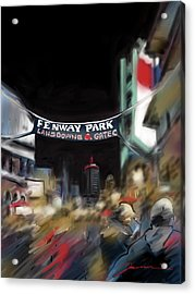 Lansdowne Street Acrylic Print