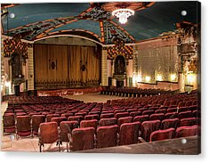 Acrylic Print featuring the photograph Lansdowne Theater by Kristia Adams