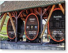 Large Wine Casks Acrylic Print