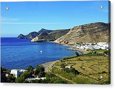 Las Negras Acrylic Print by Digby Merry