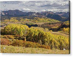 Acrylic Print featuring the photograph Last Dollar Road by James BO Insogna