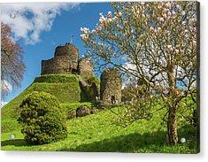 Launceston Castle, Cornwall Acrylic Print by David Ross