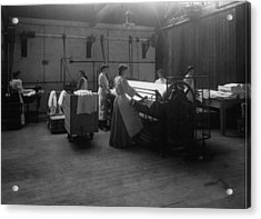 Laundry Acrylic Print by Hulton Archive