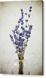 Acrylic Print featuring the photograph Lavender by Nicole Young