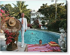 Lawrence Peabody II Acrylic Print by Slim Aarons