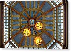 Leadenhall Market Ceiling Acrylic Print