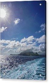 Leaving Paradise Acrylic Print