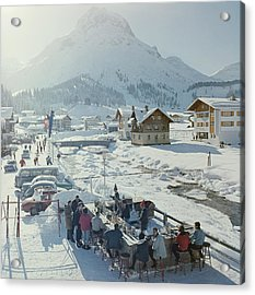 Lech Ice Bar Acrylic Print