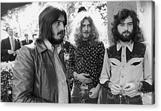 Led Zeppelin Acrylic Print by Popperfoto