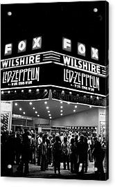 Led Zeppelin Song Remains The Same Acrylic Print by Michael Ochs Archives