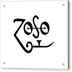 Led Zeppeling Z O S O - T-shirts Acrylic Print