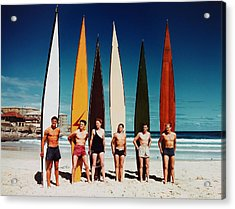 Leisure. Sport. Pic 1948. Bondi Beach Acrylic Print by Popperfoto