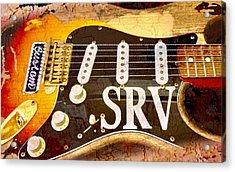 Lenny Stevie Ray Vaughans Guitar Acrylic Print