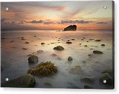 Malibu Sunset Acrylic Print
