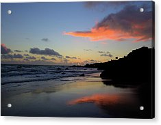 Leo Carrillo Sunset II Acrylic Print