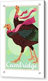 Les Foulards De Cambridge Acrylic Print