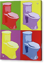 Les Toilettes  Acrylic Print