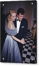 Lets Dance Acrylic Print by Slim Aarons