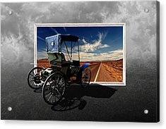Let's Go On A Colorful Adventure Acrylic Print