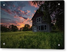 Acrylic Print featuring the photograph Letters From Home by Aaron J Groen