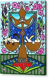 Libra Cat Zodiac Acrylic Print