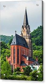 Liebfrauenkirche Oberwesel Acrylic Print
