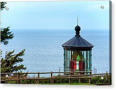 Light At Cape Meares Acrylic Print