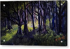 Light In The Forrest Acrylic Print