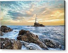 Lighthouse In Ahtopol, Bulgaria Acrylic Print